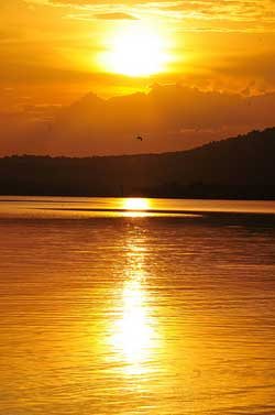 Lake Mburo sunset